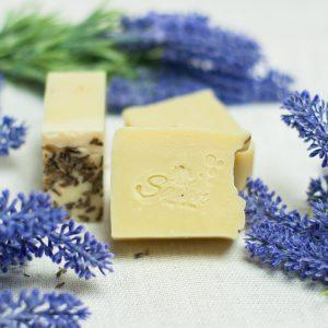 mydło lawendowe savon coametics ręcznie robione