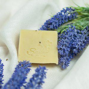 Mydło ziołowe lawendowe savon cosmetics