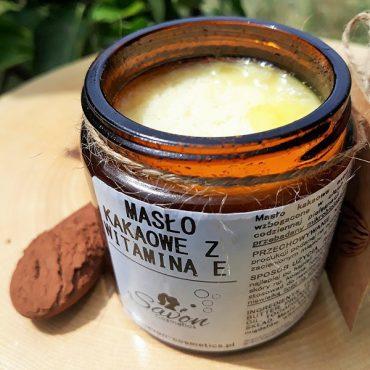 Masło kakaowe z witaminą E